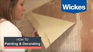 How to hang wallpaper with Wickes