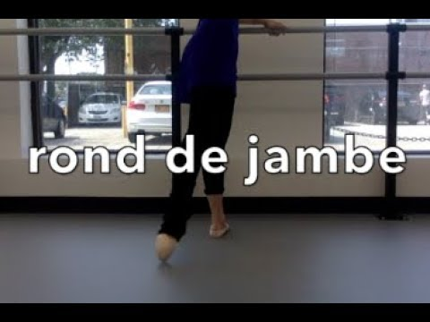 What's going on in Rond de Jambe?