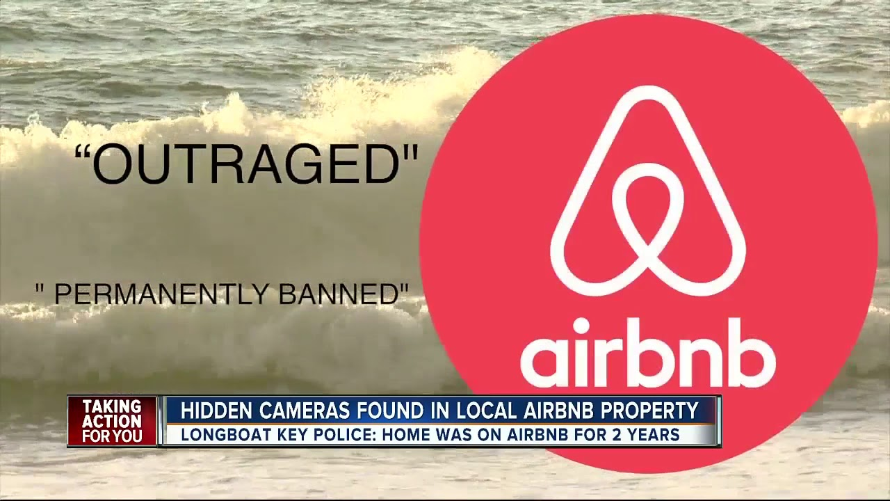 Police: Longboat Key Airbnb unit rigged with hidden cameras