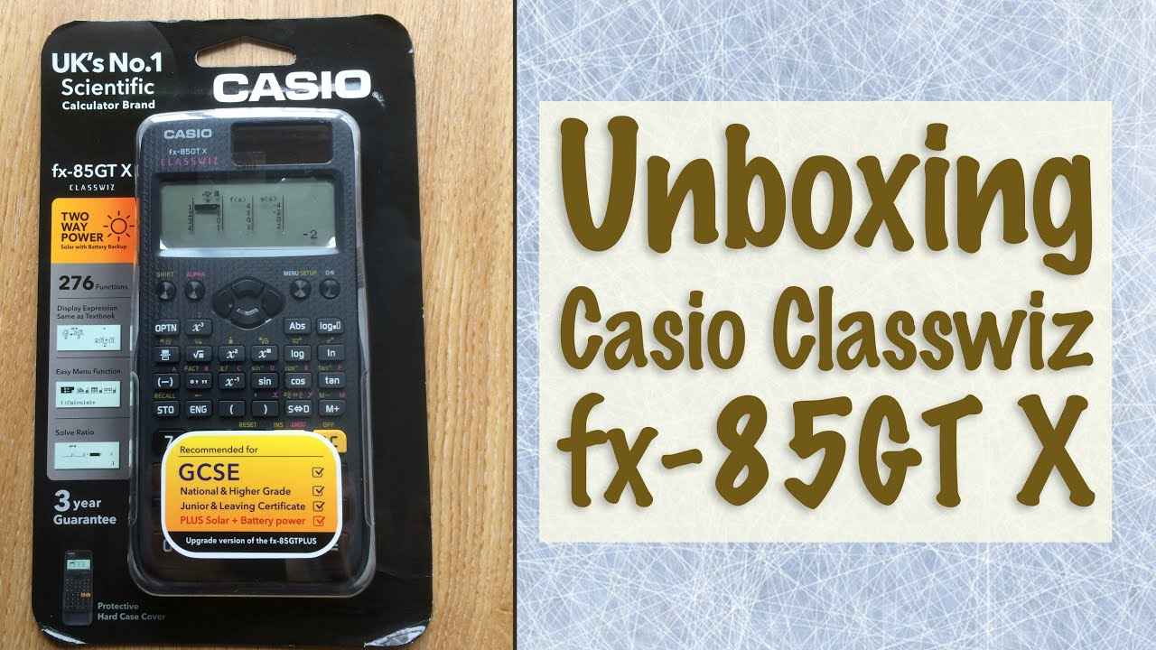 Casio FX83GTX Black The fx-83GTX takes the UK/'s Number One Scientific Calculator