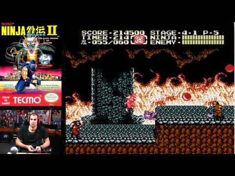 Ninja Gaiden II -- 1 Life Clear -- 865,800 pts -- under 23 min [french commentary]