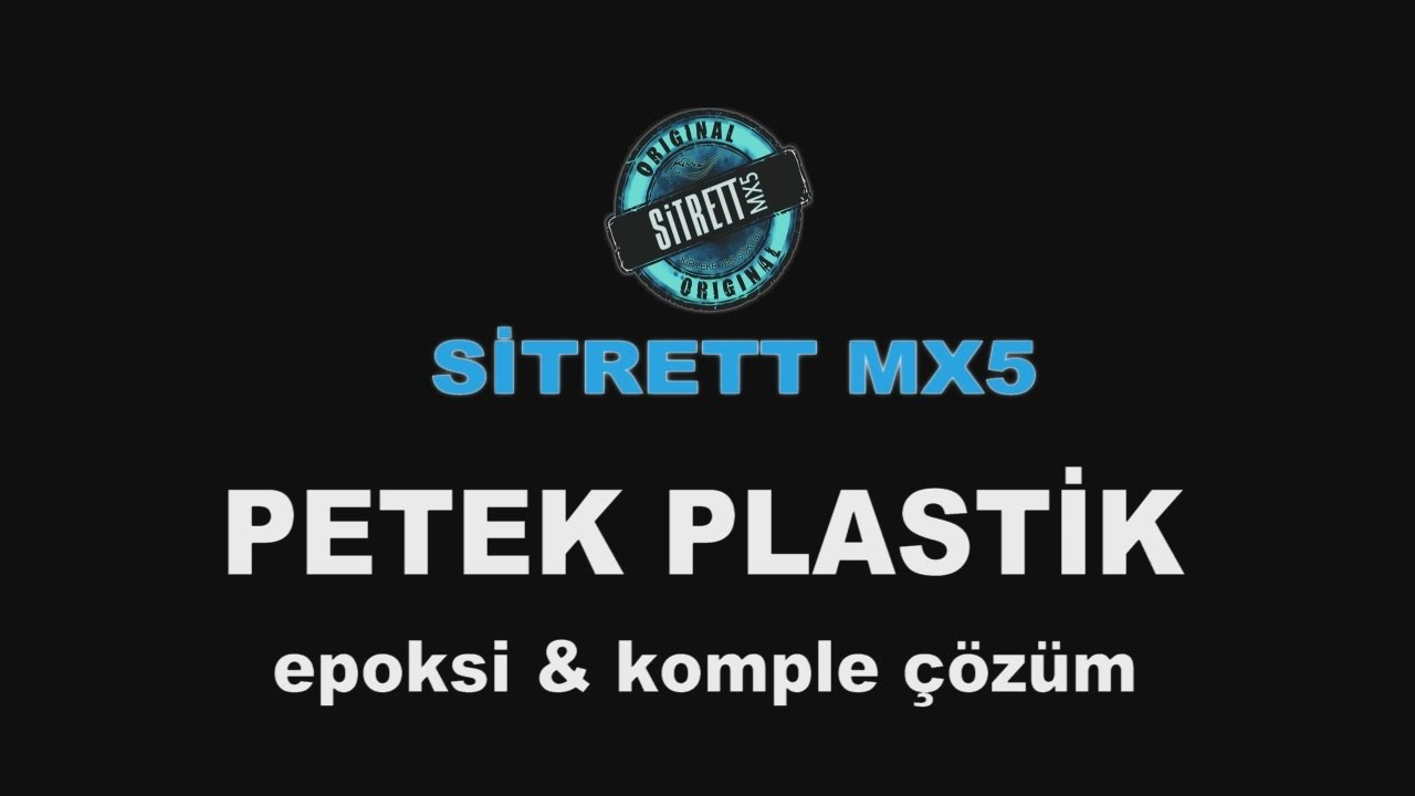 SİTRETT MX5 Yerli ve Milli Temizlik Ürünü Petek Plastik Fabrikasında