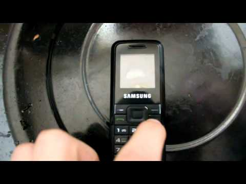 My#5 Samsung e1070 Hard Crash Test