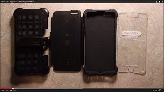 IPhone 6 Plus Rugged Case Ballistic Tough Jacket Maxx