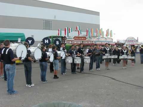 "York High School Band @ NE State Fair 2012 ""I Get Around"""