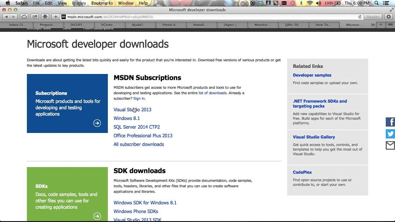 Download MSDN