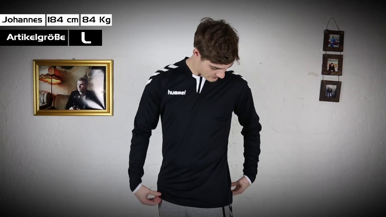 f9ab7e61077 Hummel CORE LS POLY JERSEY - YouTube