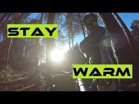 3 Tricks To Keep Yourself 50% Warmer On The Bike In Winter. Cycling Academy 3.