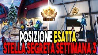 STELLA SEGRETA SETTIMANA 3 STAGIONE 7 FORTNITE