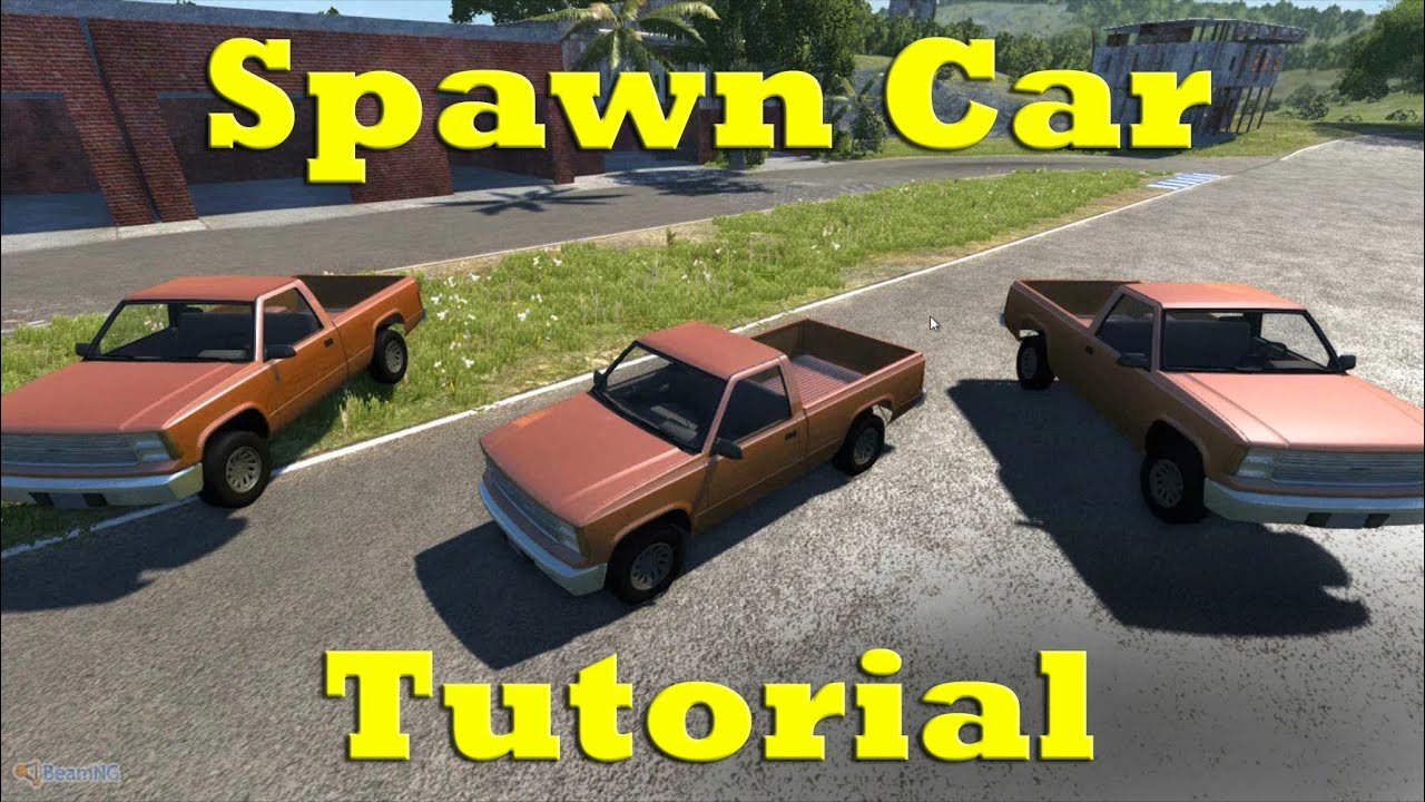 beamng drive how to spawn cars tutorial 1080p hd youtube. Black Bedroom Furniture Sets. Home Design Ideas