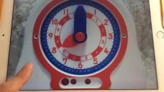 子供が時計の読み方を覚えられるように作りました。 #幼稚園 #保育園 #...