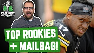 Fantasy Football 2020 - Top Rookie Picks + Mailbag, Scratch That Itch! - Ep. #865