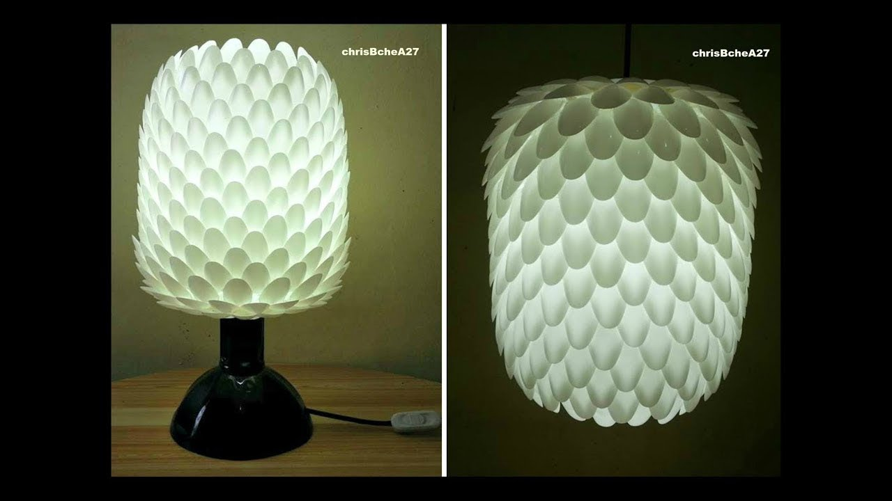 Diy 66 2 in 1 lampshade made of recycled spoons 2017 version youtube diy 66 2 in 1 lampshade made of recycled spoons 2017 version aloadofball Gallery