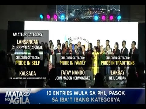 1st Southeast Asia Prix Jeunesse finalists for youth-themed films presented in Manila