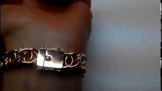 Браслет из серебра арабский бисмарк позолоченный ручная работа серебро