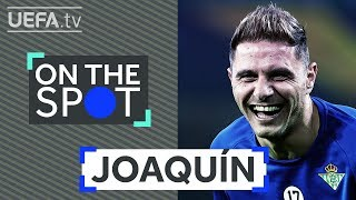 ON THE SPOT: How will JOAQUÍN celebrate if BETIS win the #UEL this season?