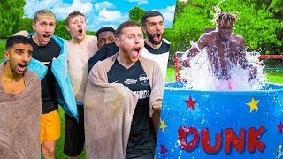 SIDEMEN ICE DUNK TANK CHALLENGE Video