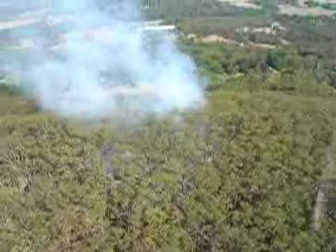 Fire in Millners rd Yarra Junction