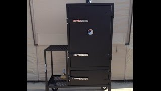 Kat Bbq Insulated Vault Safe Smoker