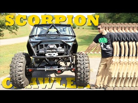THE SCORPION CRAWLER WALKAROUND