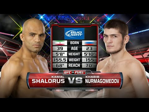 UFC Debut: Khabib Nurmagomedov vs Kamal Shalorus | Free Fight