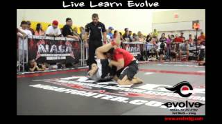 Falisha Puig of Evolve BJJ Fort Worth at NAGA Houston 7-13-13