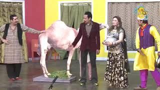 Zafri Khan Iftikhar Thakur and Nasir Chinyoti Pakistani Stage Drama Comedy Clip