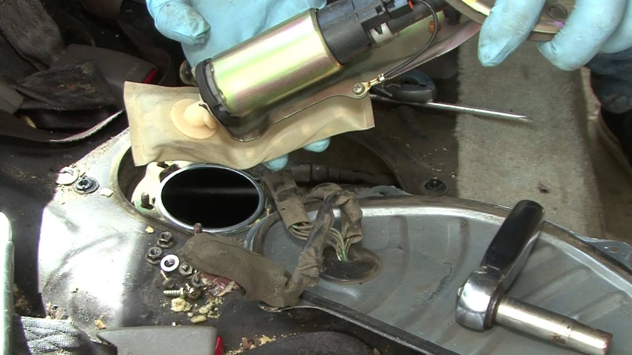 How to change your Civic Fuel pump 9200  YouTube