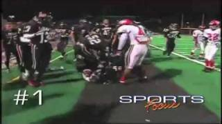 FOOTBALL HITS - Warning:  VERY GRAPHIC