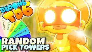 Jeden na wszystkich | Random Pick Tower | Bloons TD6 PL