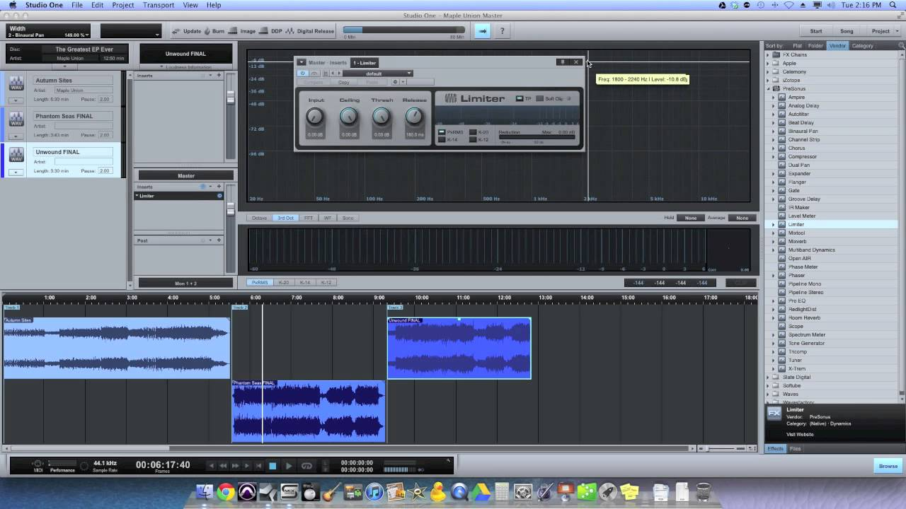 Presonus Studio One Professional Free Download