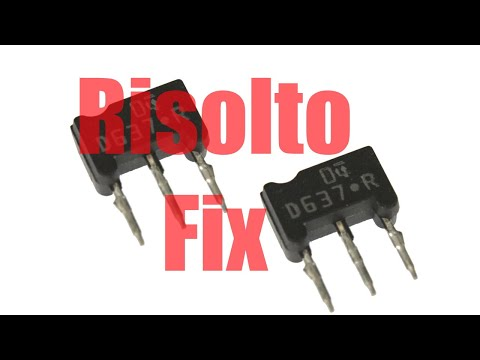 Riparazione technics 1200 1210 di Raf D by king julion dj piatto morto how fix problem