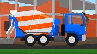Мультфильм про машинки - Доктор Машинкова  - Как я хочу быть? - развивающий  мультфильм для детей