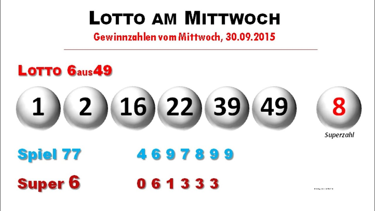 Mitwoch Lotto