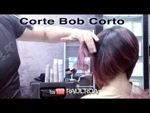 Corte Bob Corto RAUL ROA ESTILISTA