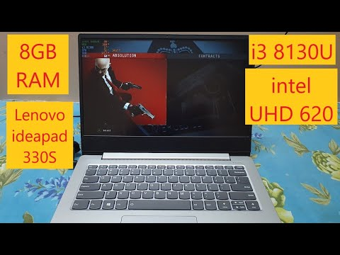 Hitman Absolution Gameplay on intel UHD 620 |
