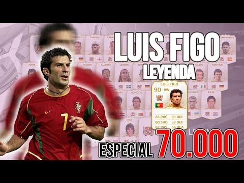 ESPECIAL 70.000 | LUIS FIGO LEYENDA