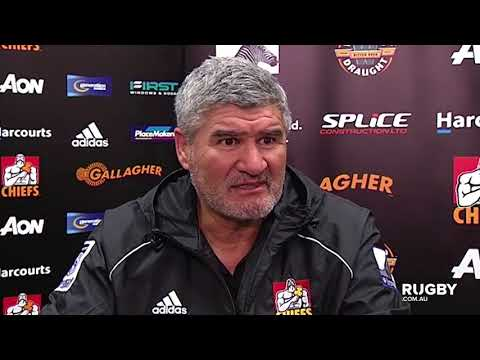 2018 Super Rugby Round 15: Chiefs press conference