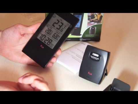 Термометр Домашняя метео станция Ea2 SLIM BL502