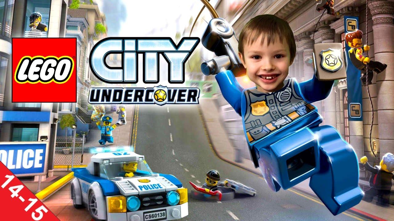Gramy W Lego City Tajny Agent Misje 14 15 Koniec Gry Youtube