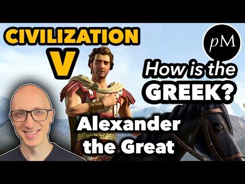 Alexander the Great's Greek: Civilization V. How is his pronunciation?