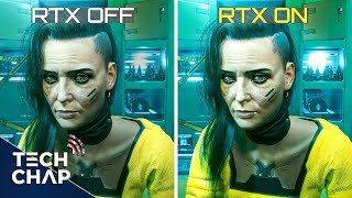 CyberPunk Ray Tracing & DLSS Tested! (3060Ti vs 3070 vs 3080 vs 3090) | The Tech Chap