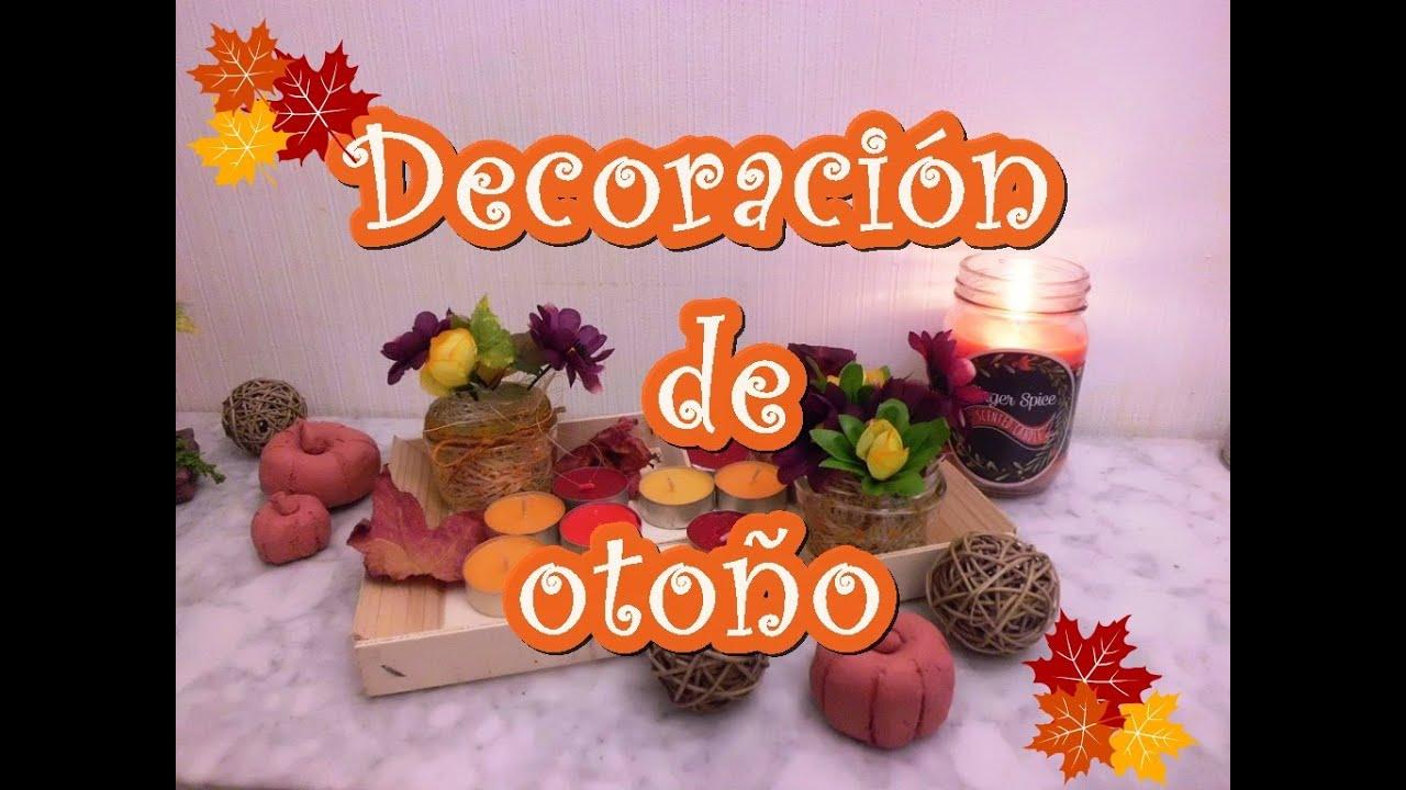 Ideas para decorar en oto o youtube - Decoracion de otono ...