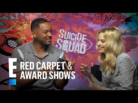 Will Smith and Margot Robbie Interview Each Other | E! Live from the Red Carpet