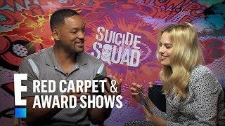 Will Smith and Margot Robbie Interview Each Other | E! Red Carpet & Award Shows