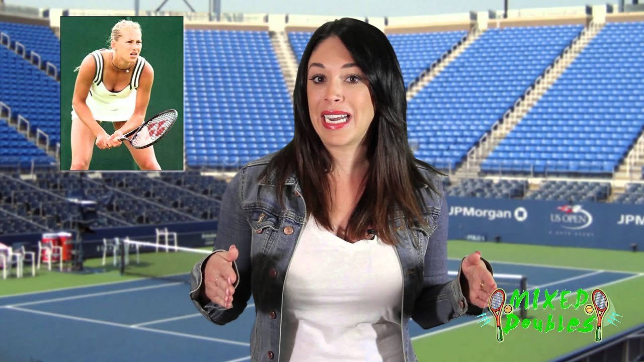 MIXED DOUBLES - US Open 2014 - The Women! - YouTube