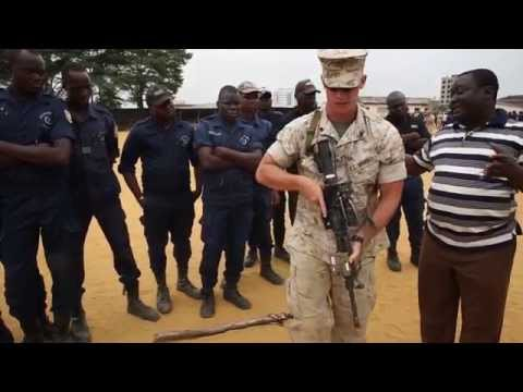 U.S. Marines Work With Benin To Protect Its Borders