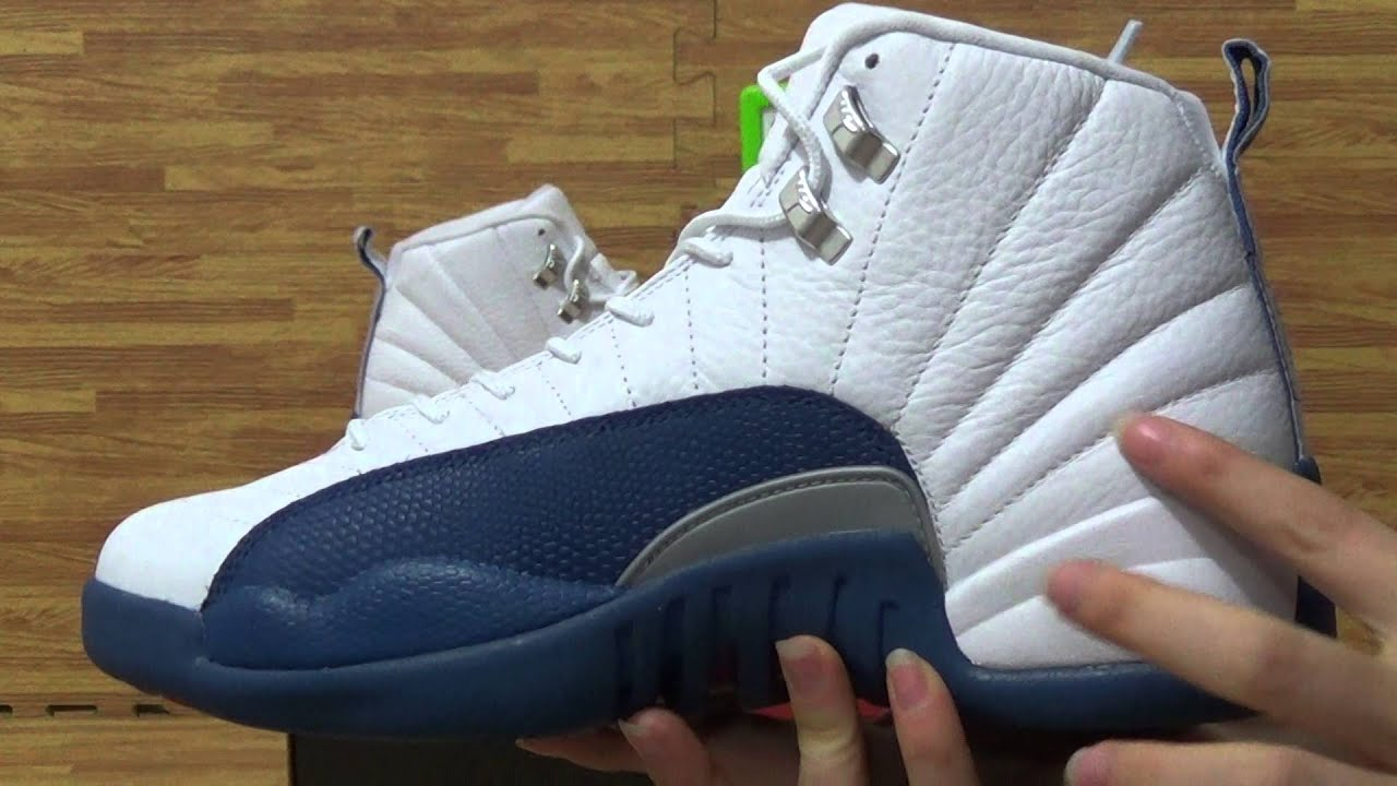 Authentic air Jordan 12s  French Blue