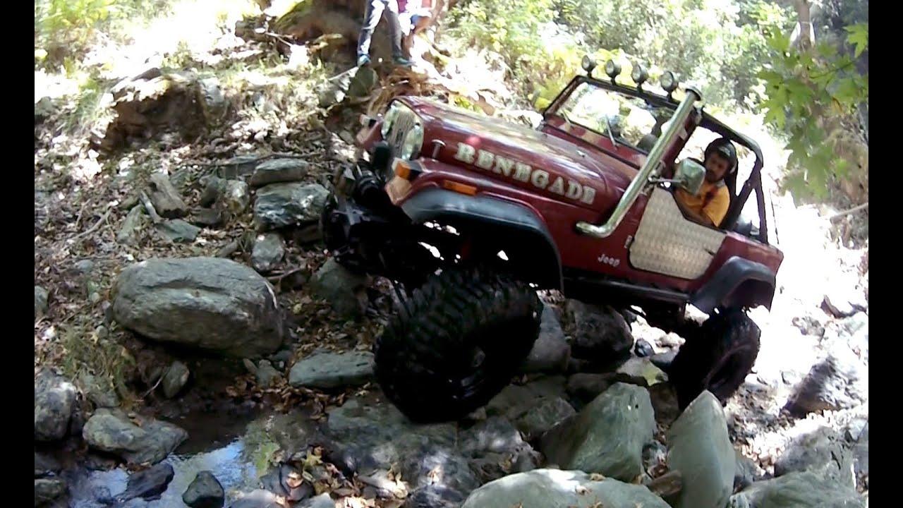 Jeep Cj7 Rock Crawling