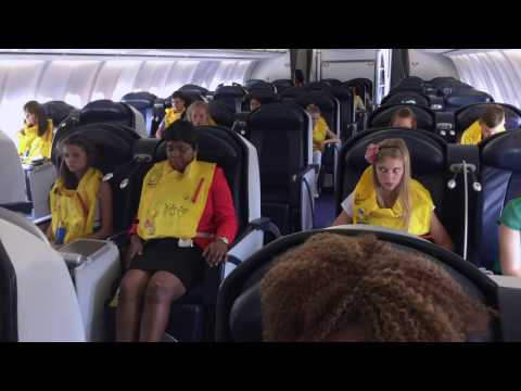 CABIN CREW TRAINING: DITCHING - LONG (FULL)  PREPARATION